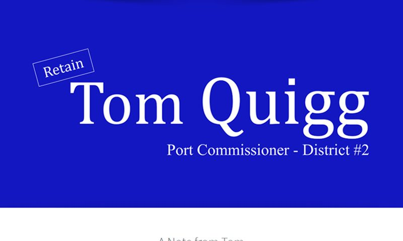 Tom Quigg for Port Featured Image
